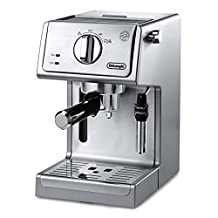DeLonghi ECP3630 15 Bar Espresso and Cappuccino Machine with Adjustable Advanced Cappuccino System, Stainless Steel