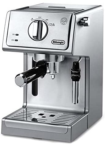 DeLonghi ECP3630 15 Bar Pump Espresso and Cappuccino Machine, Stainless Steel (ECP3630)