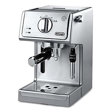 De'Longhi ECP3630 15 Bar Pump Espresso and Cappuccino Machine, Stainless Steel (ECP3630)