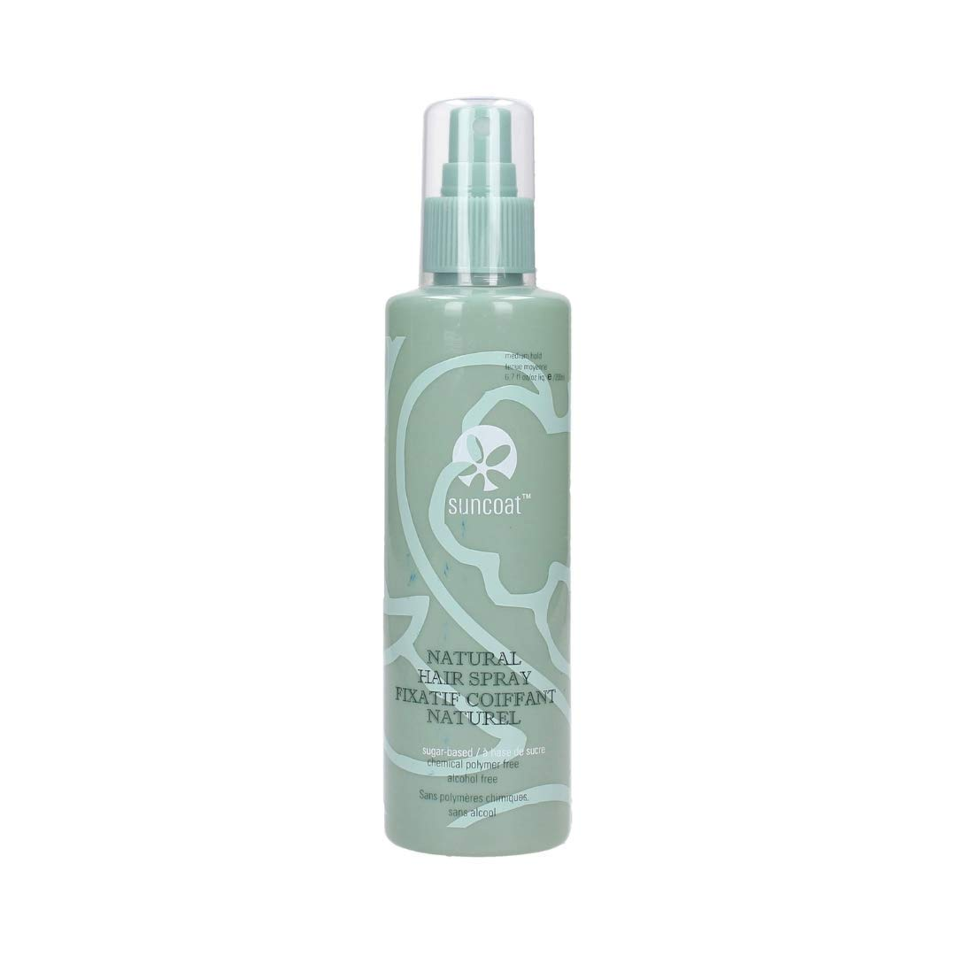 SUNCOAT PRODUCTS INC. Sugar-Based Natural Hair Styling Spray Fragrance-Free (6.7 fl. oz.) packaging may vary