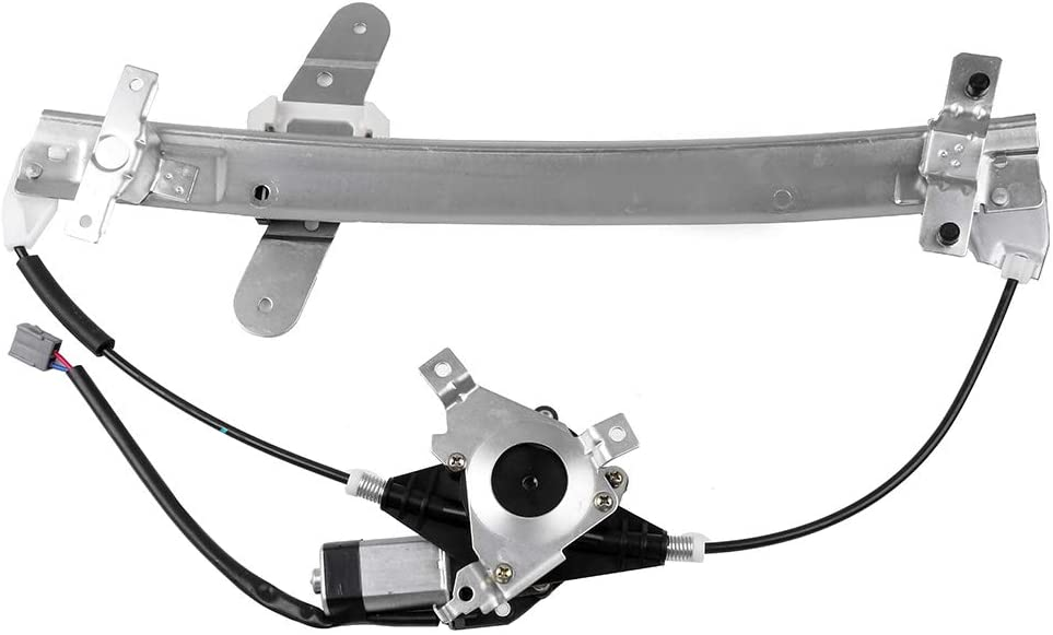 Power Window Regulator Front Left Driver Side with Motor fits for 1992-11 Ford Crown Victoria 1992-10 Mercury Grand Marquis 2003-04 Mercury Marauder 1W7Z 5423394-BA,741664 6W7Z 5423209-AA 741-664