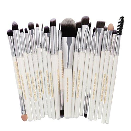 20 Pieces Makeup Brush Set, Staron Makeup Brushes Kit Founda