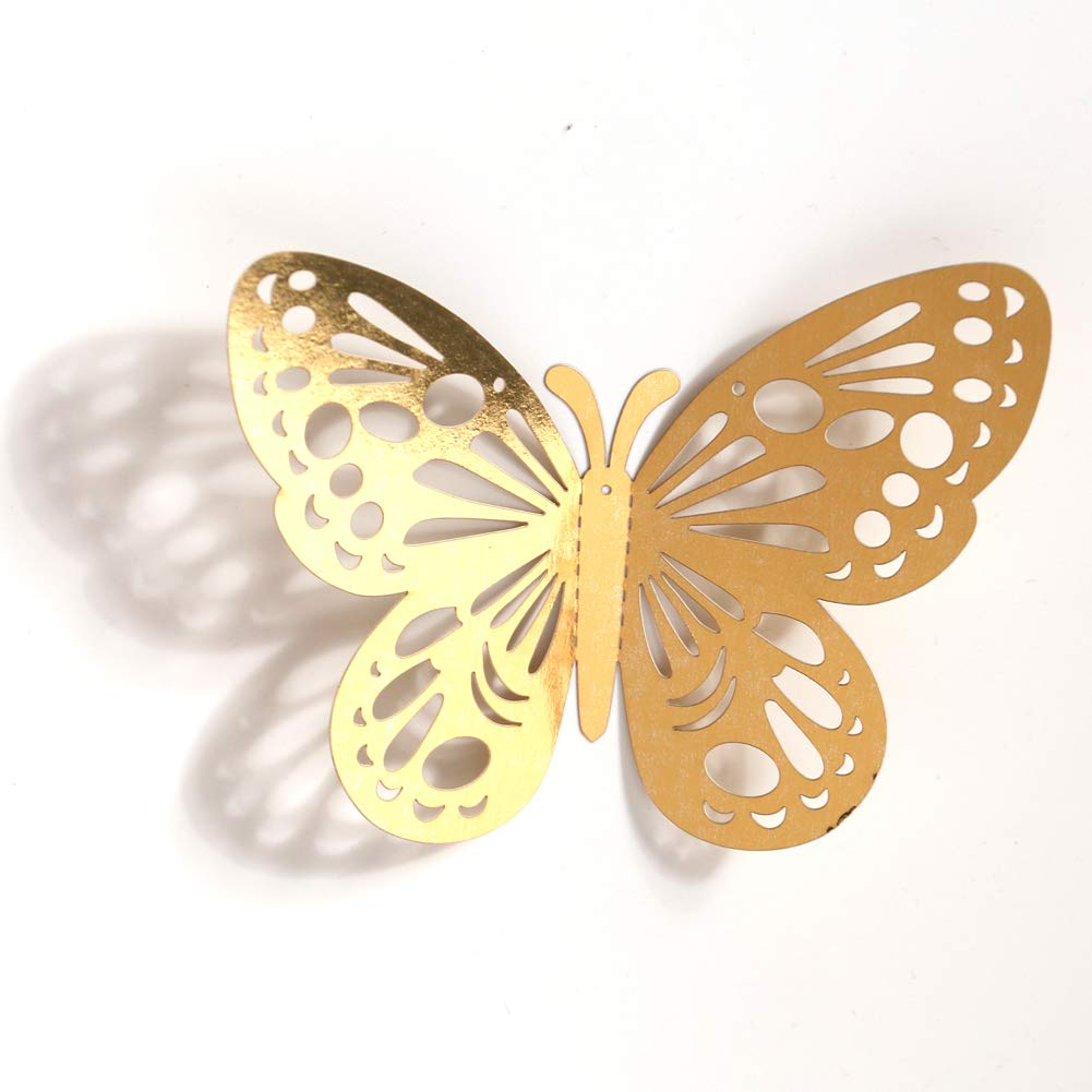 Amazon.com : aooyaoo 48pcs/lot 3D Butterfly Kids Wall Stickers ...