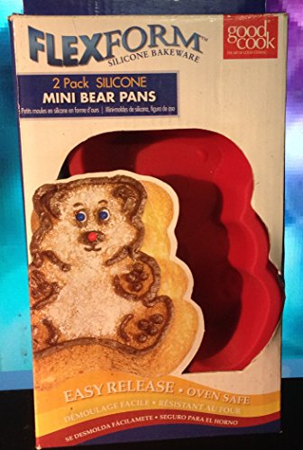 flexform-silicone-mini-bear-pans-2-pack