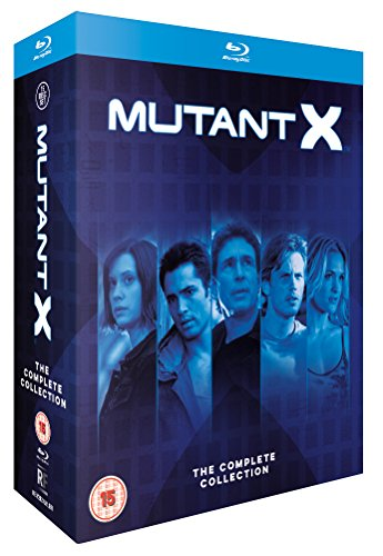 Mutant X - The Complete Collection [Blu-ray] [Region Free] {UK Import]