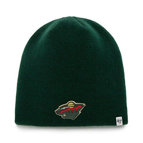 '47 NHL Minnesota Wild Infant Beanie Knit Hat, One Size, Dark Green