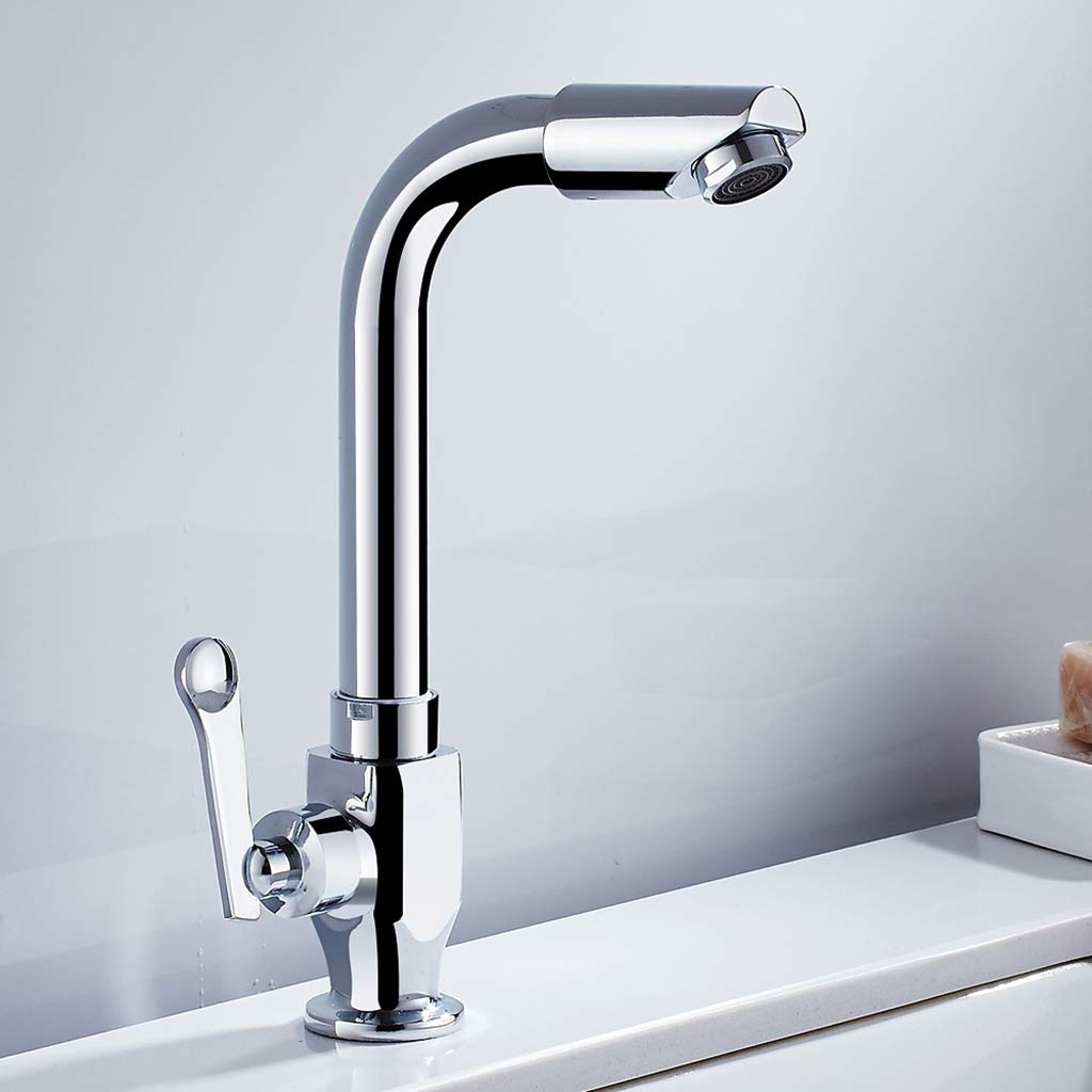 Kitchen faucet All Copper Body Single Cold Sink Laundry Mop Pool Faucet Can Be redated