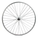 700c rear wheel - Sta-Tru Silver Alloy ATB 6-7 Speed quick release wheel