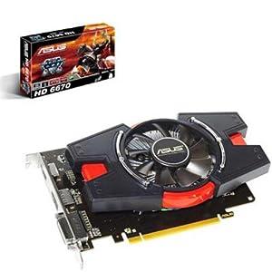 Asus AMD Radeon HD 6670 Graphics Card (1GB, PCI-Express ...