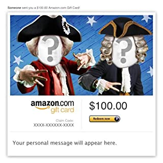 Amazon Video Gift Card - E-mail - Founding Fathers' Rap (B009I1ZGYM) | Amazon price tracker / tracking, Amazon price history charts, Amazon price watches, Amazon price drop alerts