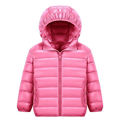 Weatherproof Kids Down Fille Pink Doudoune Blousons Manteau Boys Ake Hooded 6wBqI44