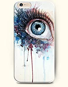 OOFIT New Apple iPhone 6 ( 4.7 Inches) Hard Case Cover - Protuberant Boodshot Blue Eye by icecream design