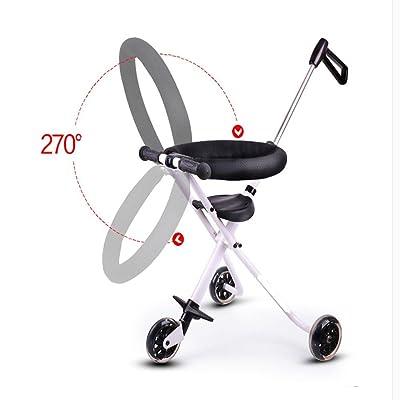 LOVE pliage portable simple garde-fou cinq enfants tricycle