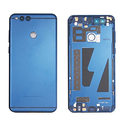 """Battery Housing Door Cover back Case Replacement For Huawei Honor 7X BND-TL10 BND-AL10 BND-L21 5.93"""" (blue)"""