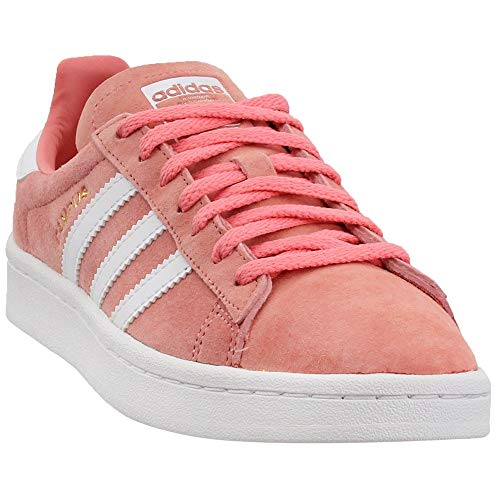 Adidas ORIGINALS Women's Campus Sneaker, Tactile Rose Crystal White, 9 M US