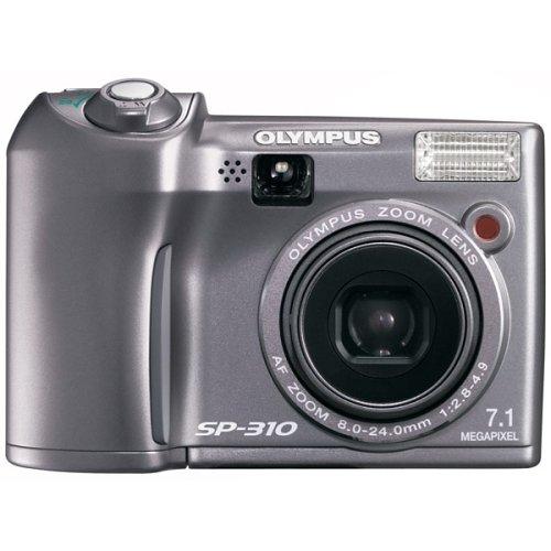 Olympus SP-310 7.1MP Digital Camera with 3x Optical Zoom (Silver)