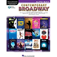 Contemporary Broadway: Instrumental Play-Along for Alto Sax Bk/Online Audio