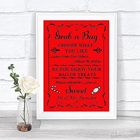 Amazon.com: Rojo Candy Buffet Sweet carro Poema ...