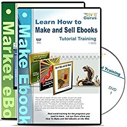 Making and Selling eBooks plus Marketing eBooks Tutorial Training Course on 2 DVDs
