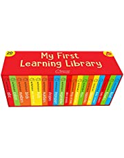 My First Learning Library Box Set: 20 Board Books Set for Kids (Horizontal Design)