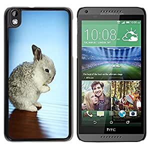 Graphic4You Cute Rabbit Bunny Animal Design Hard Case Cover for HTC Desire 816 by icecream design