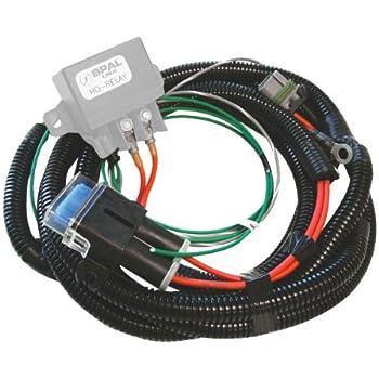 amazon com spal 185fh cooling fan harness with relay automotivespal frh ho fan relay harness