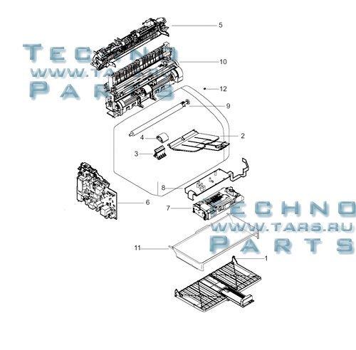 HP Q5911-67001 Exchange LaserJet 1020 - Printer (including formatter board) ONL