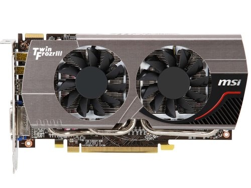 Photo - MSI AMD Radeon HD 7850 2GB GDDR5 PCI Express 3.0 Graphics Card R7850 Twin Frozr 2GD5