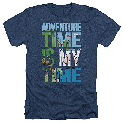 de Hora hombre Mi marino camiseta para aventuras azul pqqw4xAd