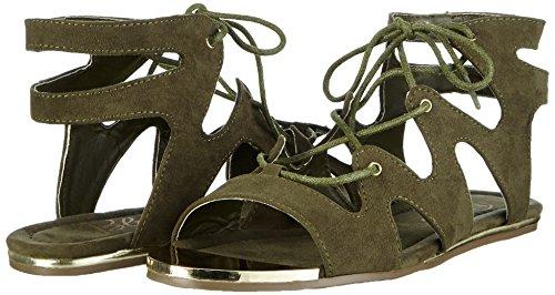 Blink Khaki Bmoril Femme Vert Sandales 851 Grün Ouvertes rrFqv