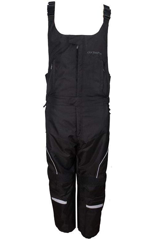 3X-Large Cortech Cascade 2.0 Mens Black Textile Snowmobile Bib