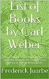 List of Books by Carl Weber: A Man's World Series, Big Girls Series, The Choir Director, The Church Series and list of all Carl Weber Books