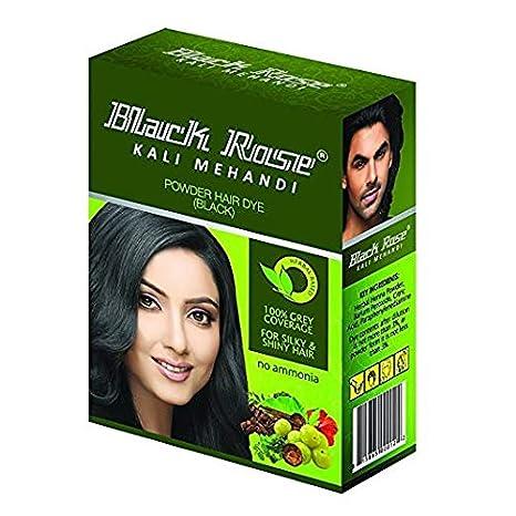 2cae704b4 Amazon.com : Black Rose Kali Mehandi 10 Sachets of 10 gm Each By Yash & Co  : Beauty