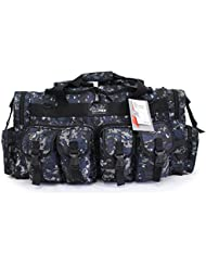 NPUSA Tactical Military Molle Gear Duffle Shoulder Strap Outdoor Travel Range Bag