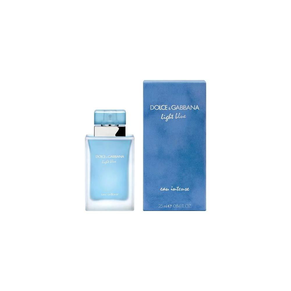 26bb74b636e6 Amazon.com : D & G Light Blue Eau Intense By Dolce & Gabbana For Women Eau  De Parfum Spray .84 oz : Beauty