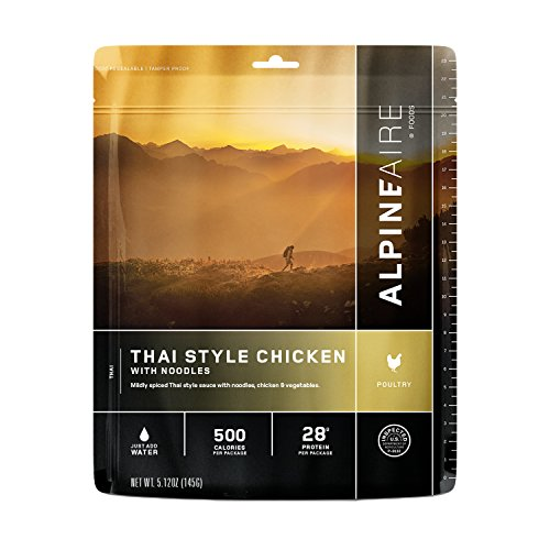 Alpine Aire Foods Thai Style Chicken with Noodles
