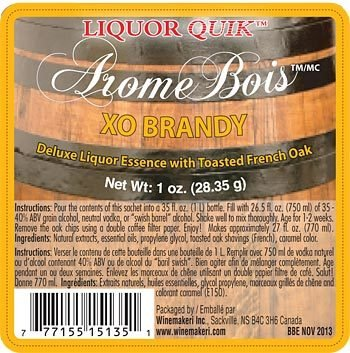 (Liquor Quik Arome Bois Deluxe Liquor Essence With Toasted Oak (XO Brandy))