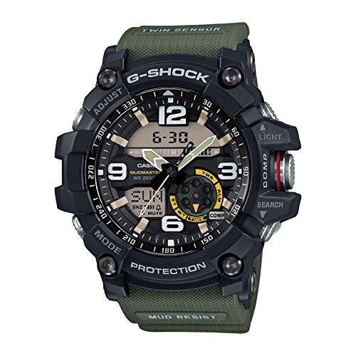 Casio Men's GG-1000-1A3CR Mudmaster G-SHOCK Quartz Casual Watch, ()