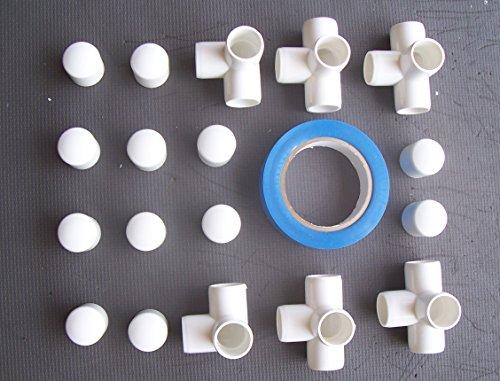 agility-gear-fixed-weave-pole-kit-6-pole-kit-use-with-3-4-pvc-