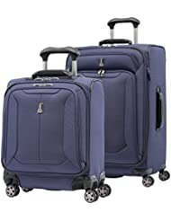 Travelpro Skypro Lite 2-Piece 8-Wheel Luggage Spinner Set: 25 and 17 Compact Boarding Bag