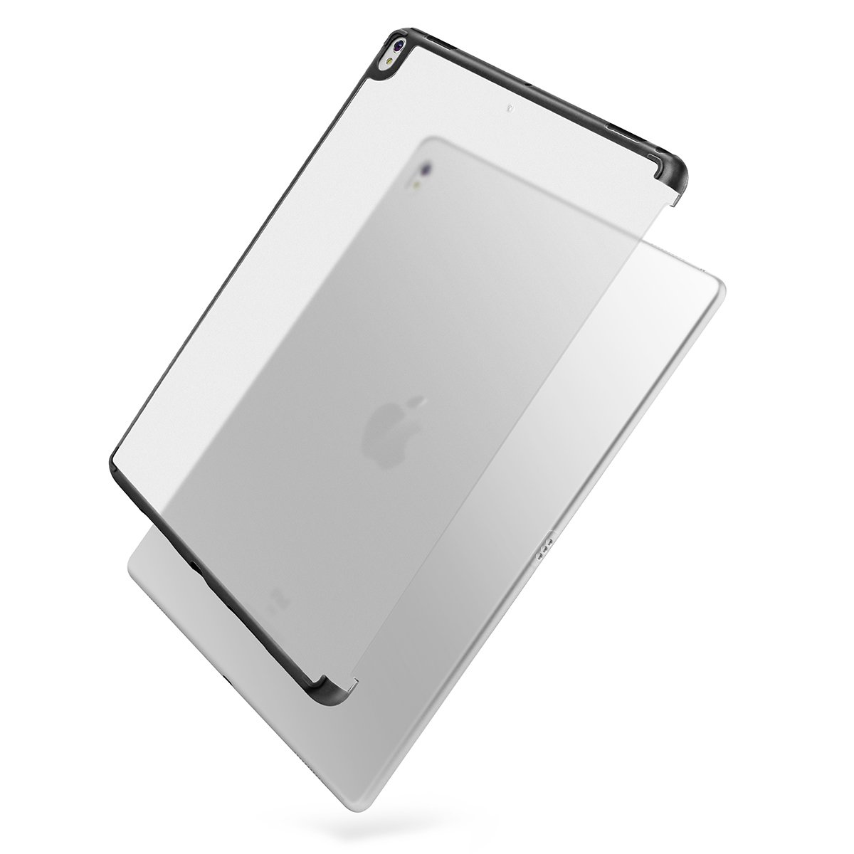 AICase iPad Pro 10.5 2017 Case, Clear Hard Case [Perfect Match Official Smart Keyboard] Soft TPU Bumper [Corner Protection] Slim Fit Back Cover iPad Pro10.5 2017 Release (iPad Pro 10.5) by AICase