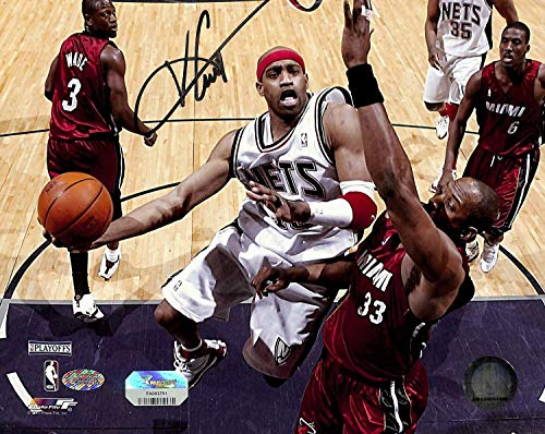 Nets Vince Carter Autographed Signed 8x10 Photo Autographed Signed FAN Coa #Fa003751 - Certified Signature