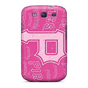 New BNH3191tmpu Pittsburgh Pirates Tpu Cover Case For Galaxy S3