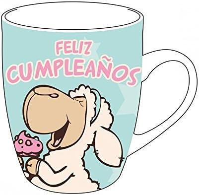 NICI Taza Feliz Cumpleaños, Única: Amazon.es: Hogar