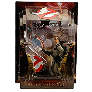 Mattel Ghostbusters Exclusive 6 Inch Action Figure Peter Venkman with Proton Stream