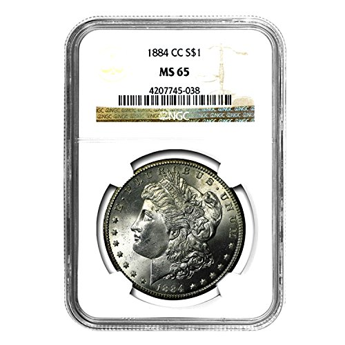 1884 CC Morgan Dollar $1 MS-65 NGC
