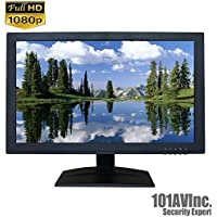101AV Security Monitor 21.5-Inch True Full HD 1080P 1920x1080 HDMI VGA and Looping BNC output Wide Screen Audio Video Computer PC monitor for CCTV DVR Home Office Surveillance Optional monitor Mount