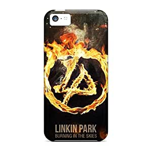 ChristopherWalsh Iphone 5c Protective Cell-phone Hard Cover Customized Trendy Linkin Park Band Pictures [mXk2306qQoS]