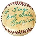 Earl Weaver Autographed Ball - Official American League - Autographed Baseballs