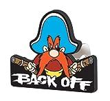 Yosemite Sam Back Off Hitch Cover